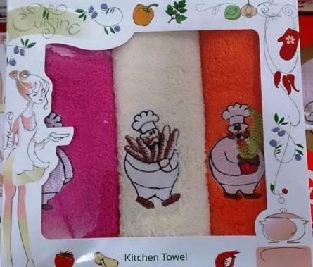Набор кухонных полотенец Повар 01 - фото 1