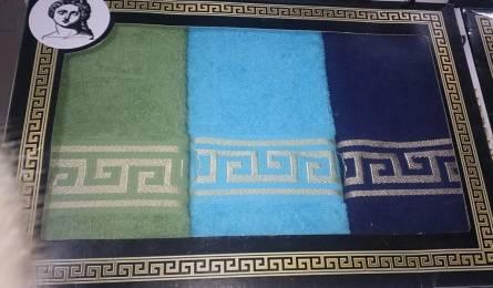 Набор кухонных полотенец Версаче тройка - фото 1