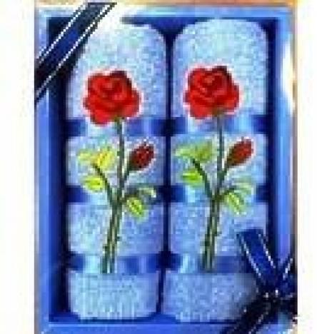 Набор полотенец Роза - фото 1