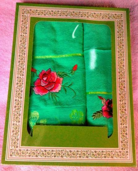 Фото  товара Набор полотенец Розочка