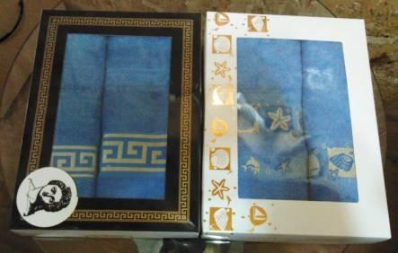 Набор полотенец Версаче - фото 1
