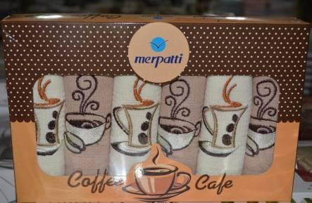 Набор вафельных полотенец Coffe Cafe - фото 1