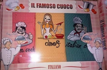 Набор вафельных полотенец Italiano - фото 1