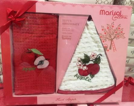 Набор вафельных полотенец Marisol - фото 1