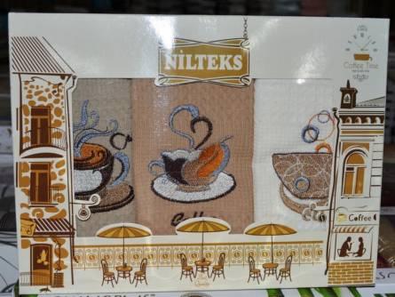 Набор вафельных полотенец Nilteks - фото 1