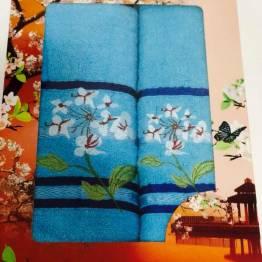 Фото  товара Наборы полотенец Ромашка.