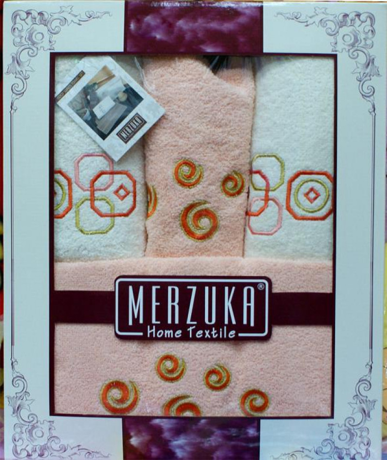 Наборы турецких полотенец Merzuka 4-ка - фото 1