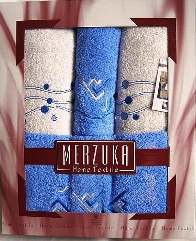 Наборы турецких полотенец Merzuka 4-ка - фото 2
