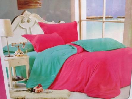 Однотонное постельное белье полуторка - фото 1