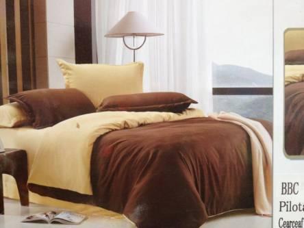 Однотонное постельное белье полуторка - фото 2