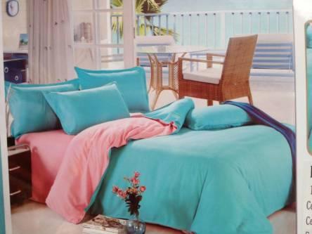 Однотонное постельное белье полуторка - фото 3