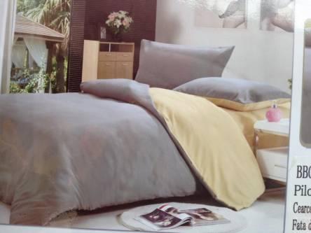 Однотонное постельное белье полуторка - фото 4