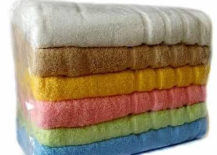 Фото  товара Однотонные полотенца