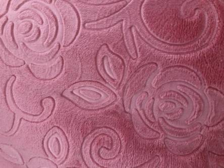 Плед из микрофибры Однотонная Роза Двухспалка - фото 4