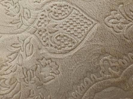 Плед из микрофибры Однотонная Роза Двухспалка - фото 3