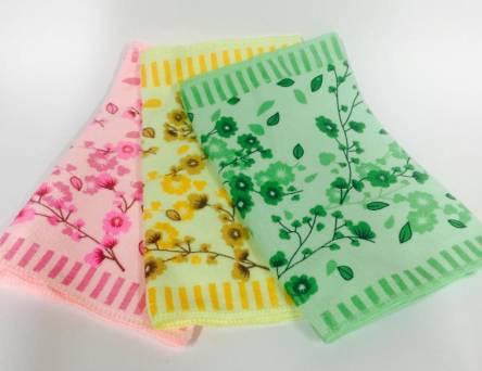 Фото  товара Полотенца для кухни Сакура микрофибра