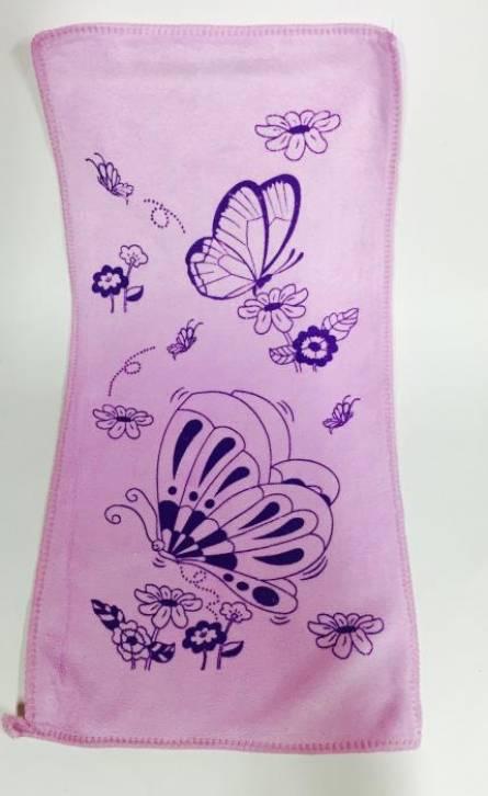 Полотенца для рук Бабочка 01 микрофибра - фото 2