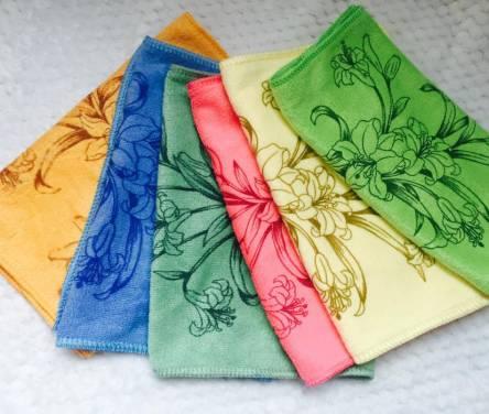 Полотенца для рук Микрофибра лилия - фото 4