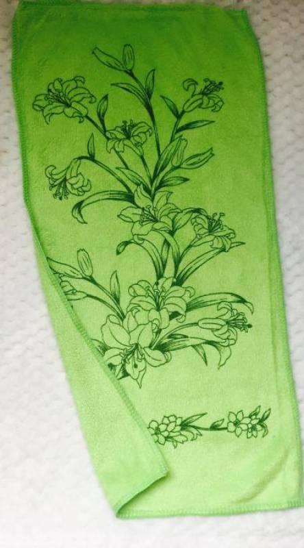 Полотенца для рук Микрофибра лилия - фото 3