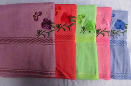 Полотенце с розой - фото 1