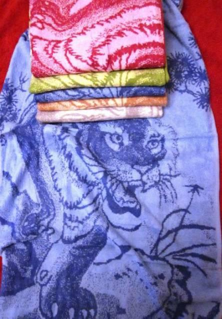 Полотенце Тигр (Киргизстан) - фото 3
