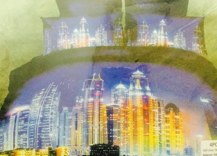 Фото  товара Постельное бельё Сатин 3Д (Евро)