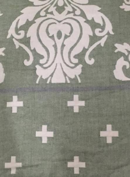 Фото  товара Простыня лён с махровкой Полуторка