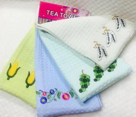 Фото  товара Вафельные полотенца Кукурузка