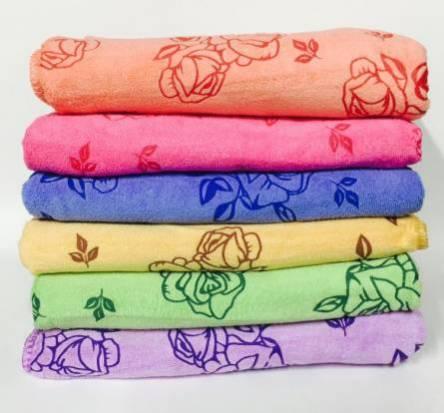 Фото  товара Кухонные полотенца Роза Микрофибра