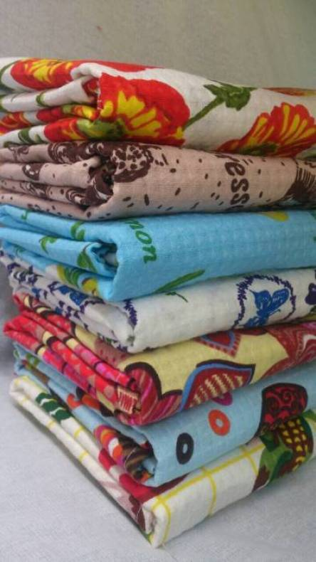 Кухонные вафельные полотенца Туркменистан - фото 1