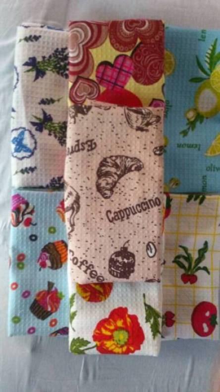 Кухонные вафельные полотенца Туркменистан - фото 2